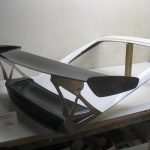 987 GT4 Wing Assembly 1